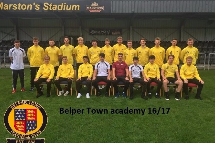 Academy lose to Matlock Town (White) 0 - 3