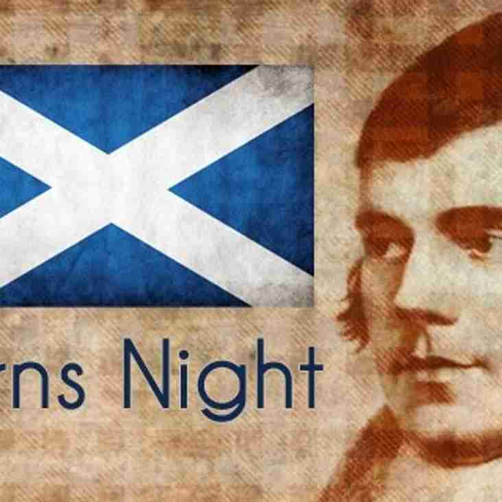 Burns Night Dinner