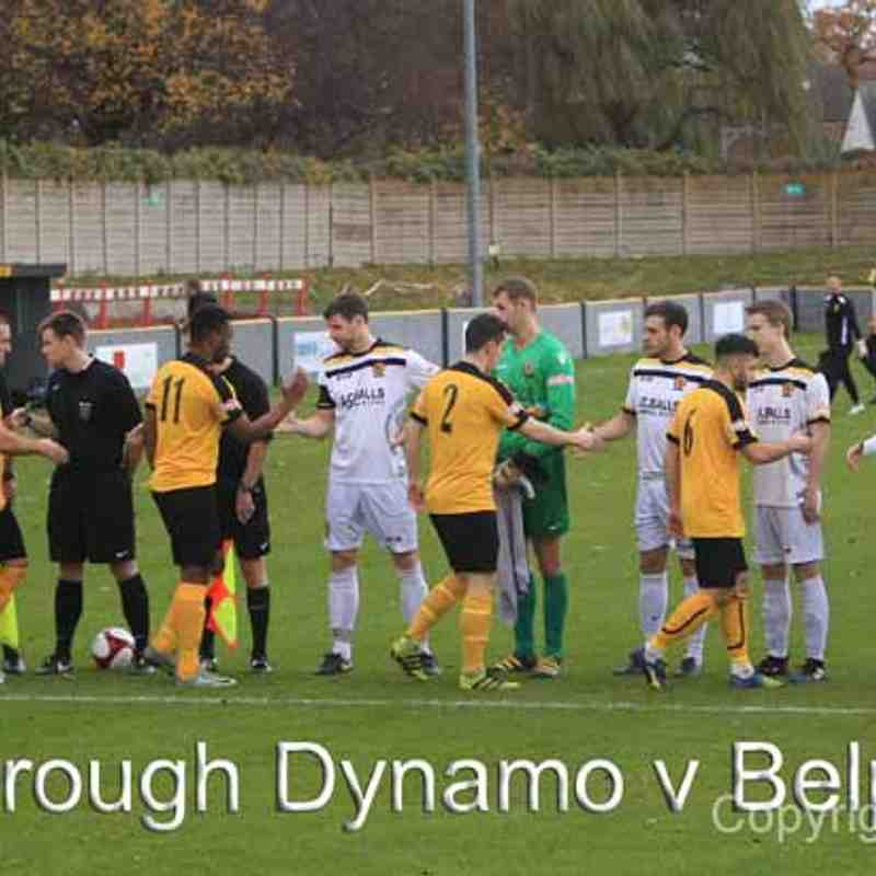 Loughborough Dynamo (Away) by Tim Harrison