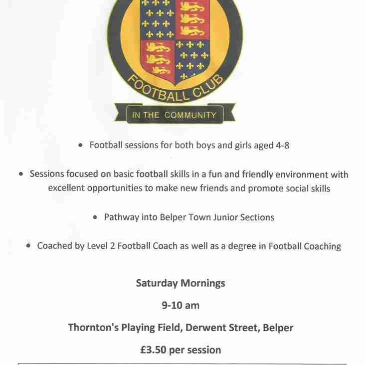 Belper Town Community Skills Programme