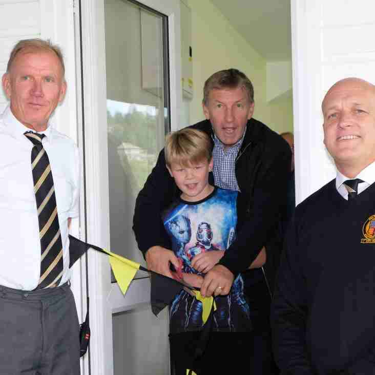 Colin Todd opens refurbuished sponsors lounge