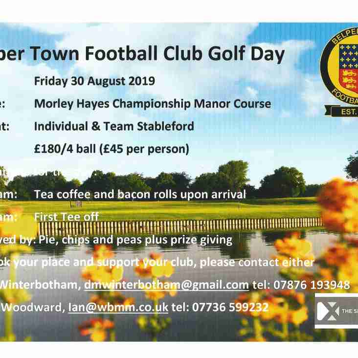 Belper Town FC-  Golf Day