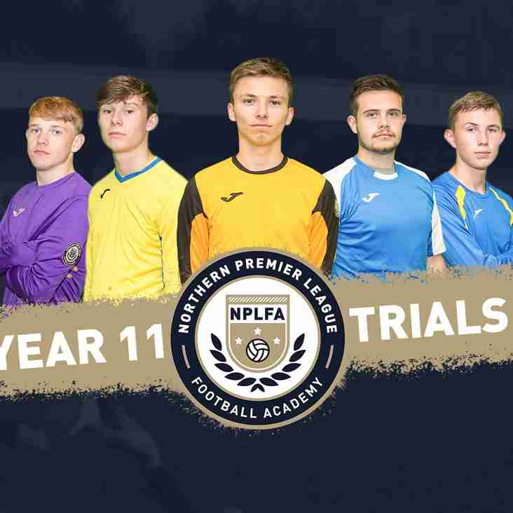Year 11 Trials - May Half Term