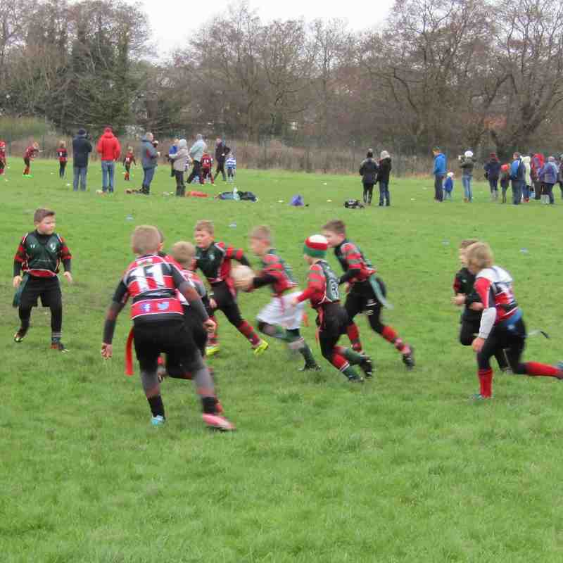 Mold V Wrexham U8's 31012016
