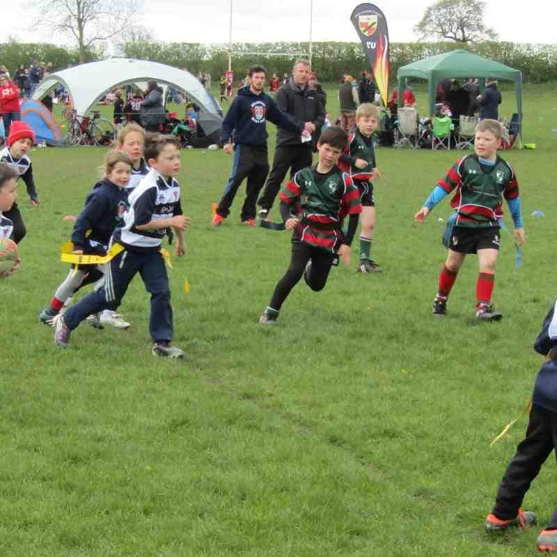 Wrexham U8's Anglo Welsh Tournament