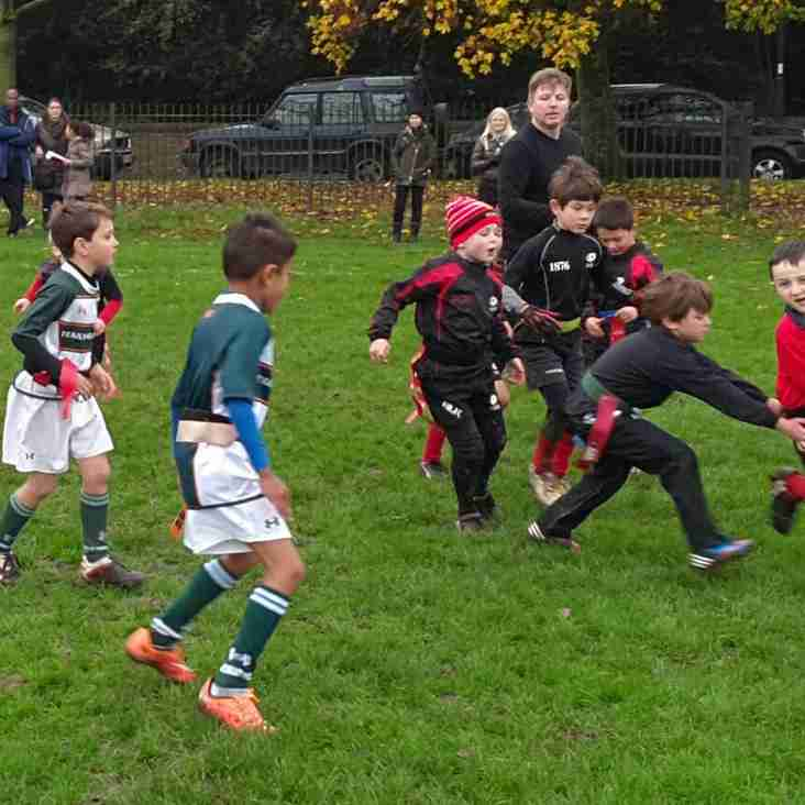 U7s host Ealing for Fun Day of Non-Stop Rugby