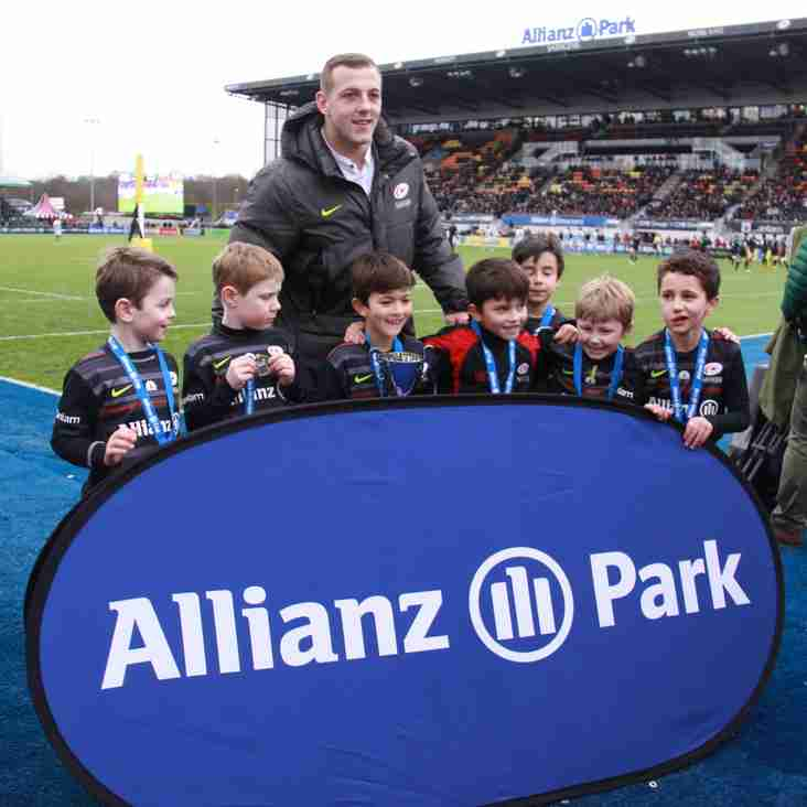 Saracens Under 7s Win the Allianz Tournament