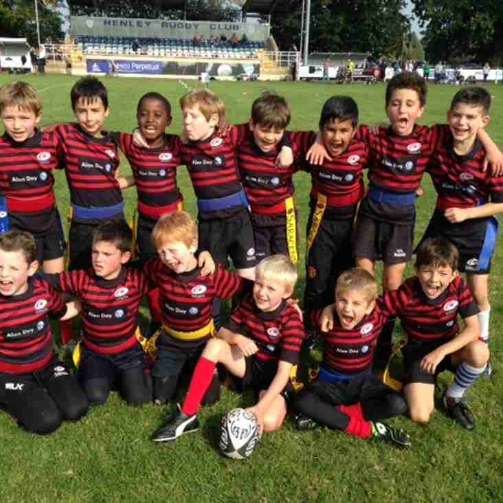 Saracens U8s Win at Henley Festival