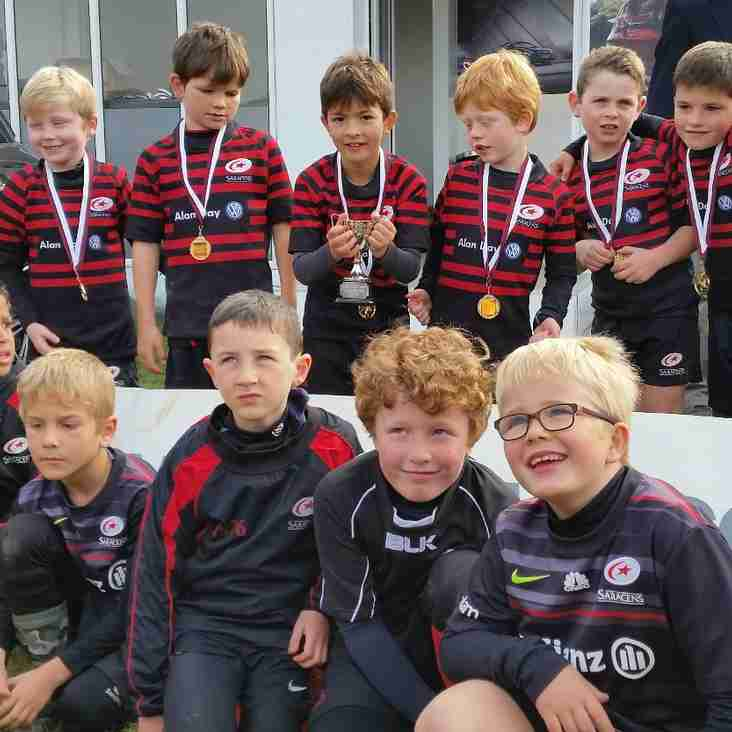 Saracens U8s Win at Amersham & Chiltern Festival