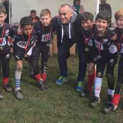 Under 8s Add to Their Medal Haul at Sarries Festival 2016