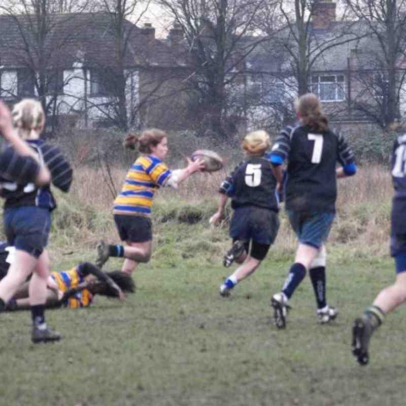 18 Girls v South Sussex Jan 2010
