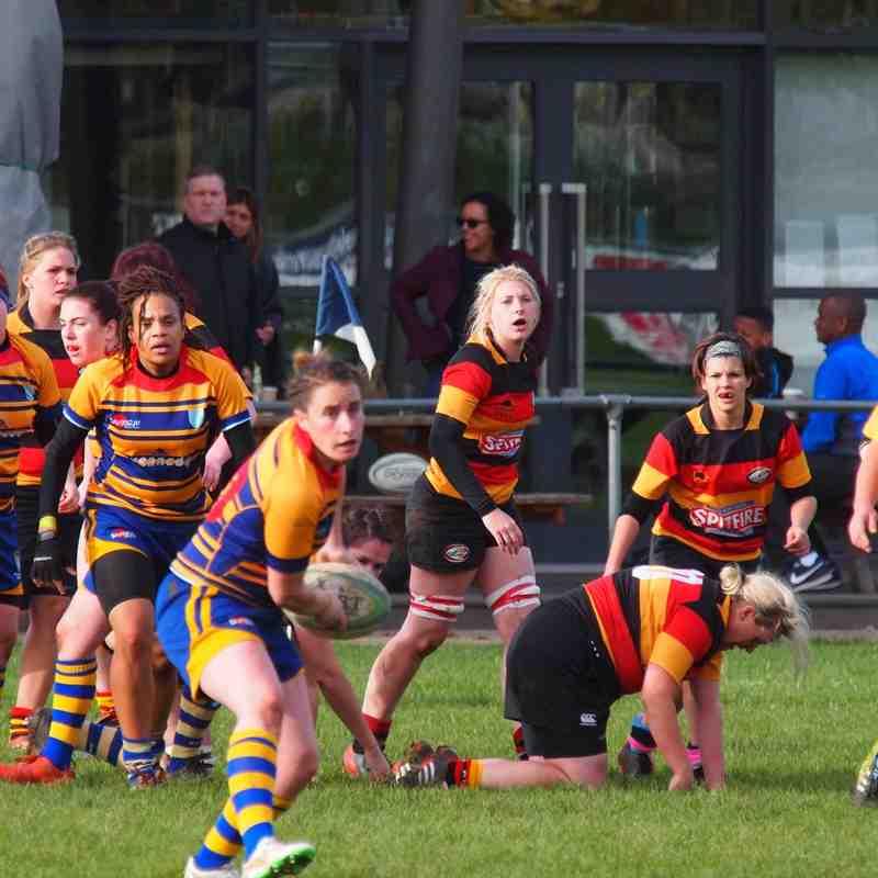 Beckenham Ladies v Ashford Ladies Oct 2015
