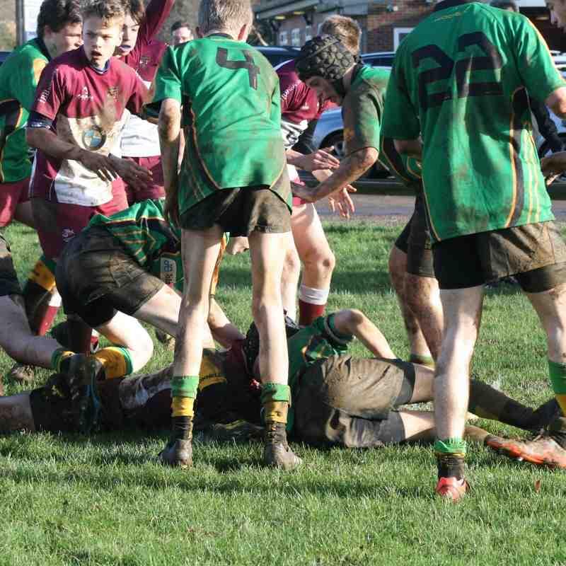 Under 15s vs Bracknell (10th January)