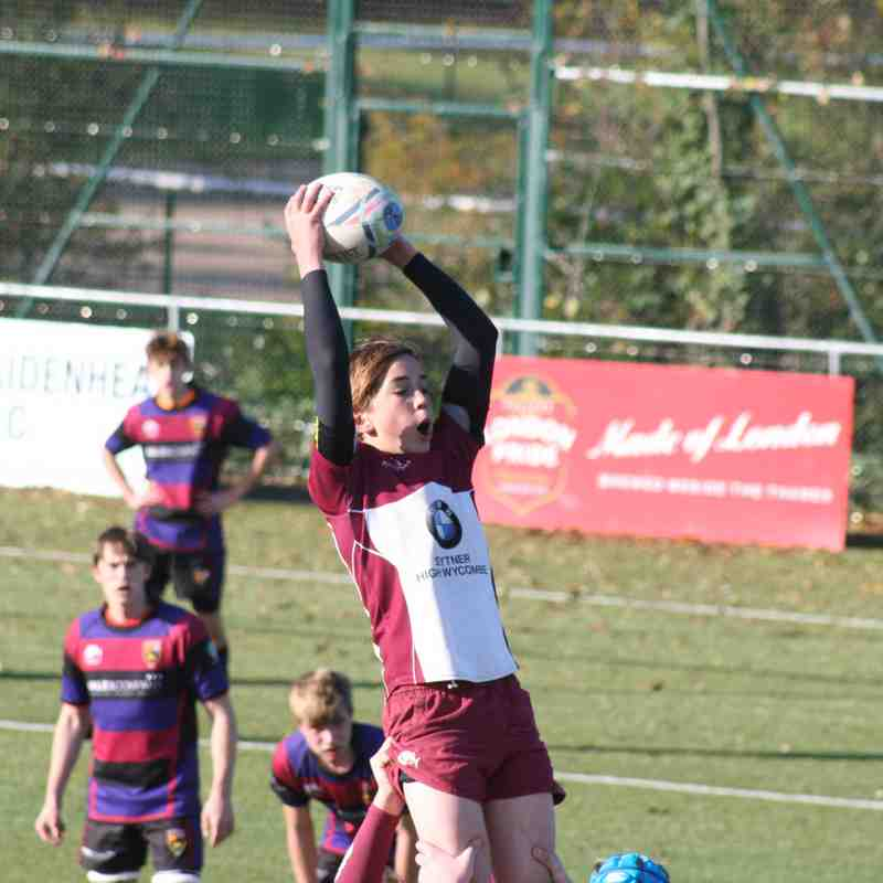 A&C Under 16s Vs Maidenhead 13th November 16