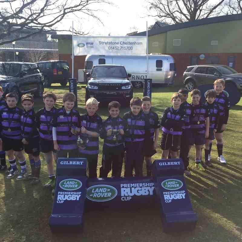 Land Rover Cup u11's Winners