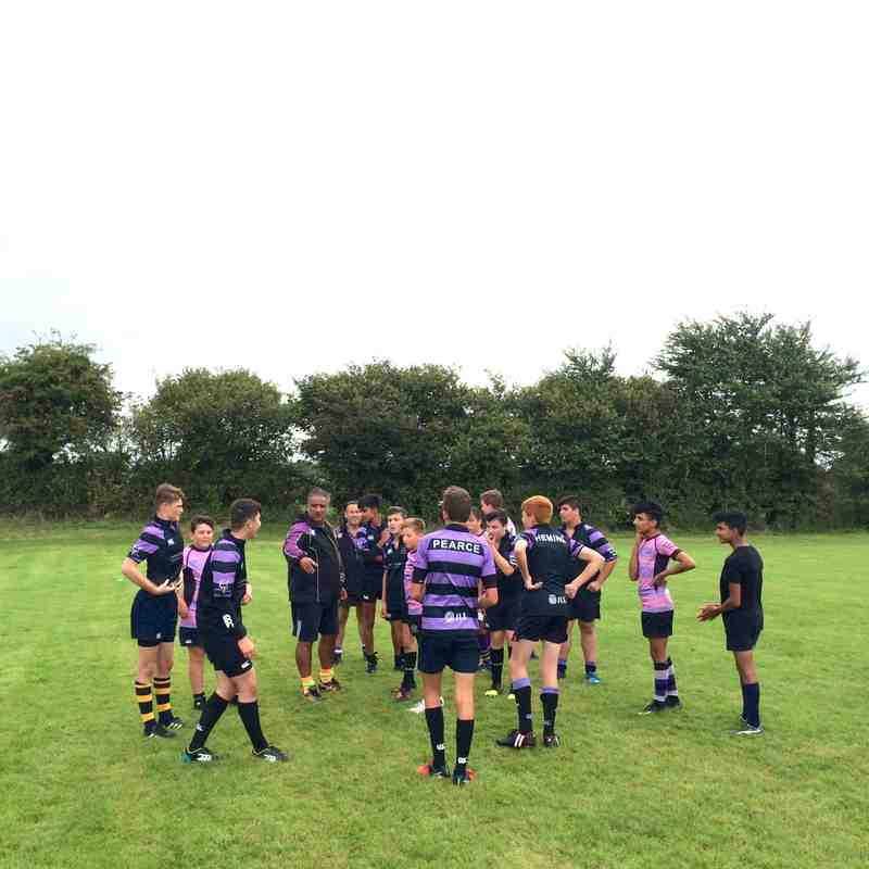2nd run out for u14's