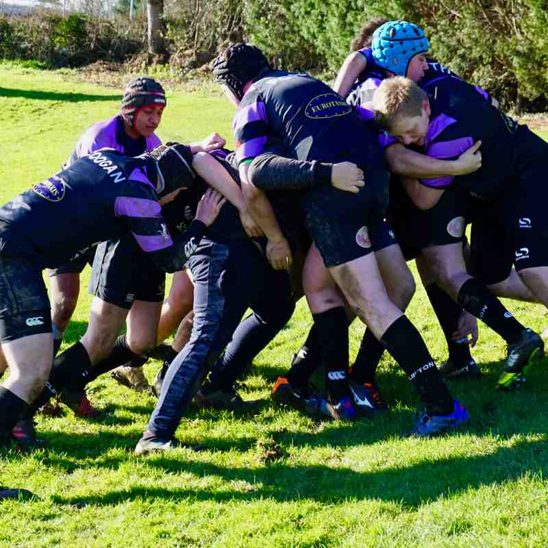 Clifton RFC vs Llanishen RFC u14s (friendly) Sun 4th Feb 2018