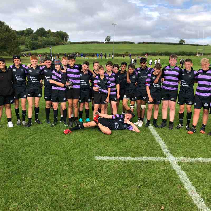 Clifton RFC 39 vs Taunton RFC 22 – u15's friendly
