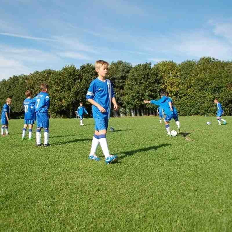 Lye Town (U11's) v Wombourne Olympic. Cup Match, 6th October 2013