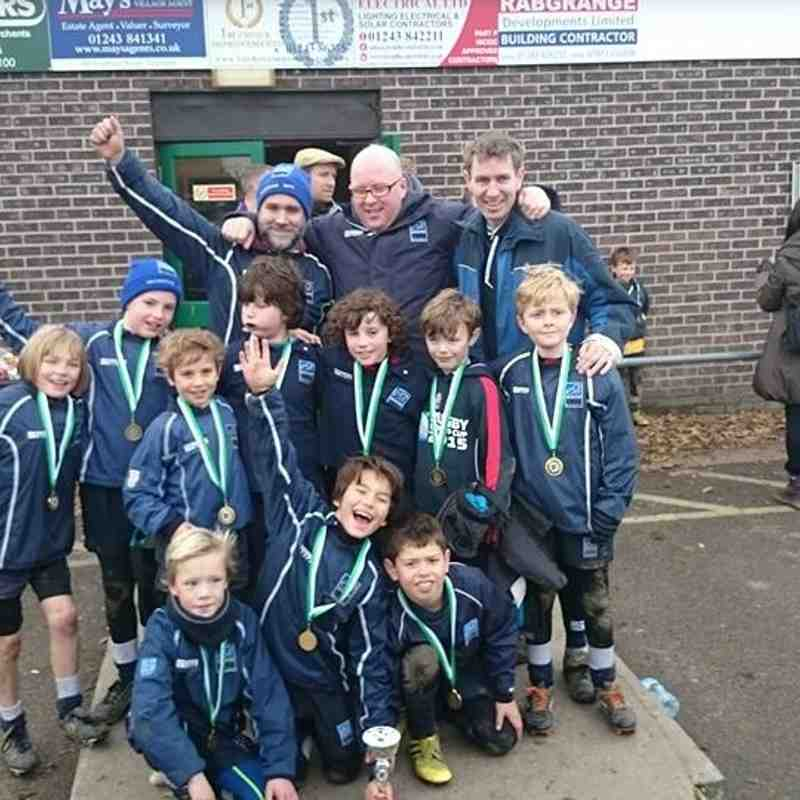 Bognor Regis RFC Festival Under 9 Winners - 2015