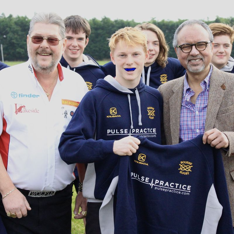Pulse Practice are the new sponsor of Bourne RUFC Under 17's