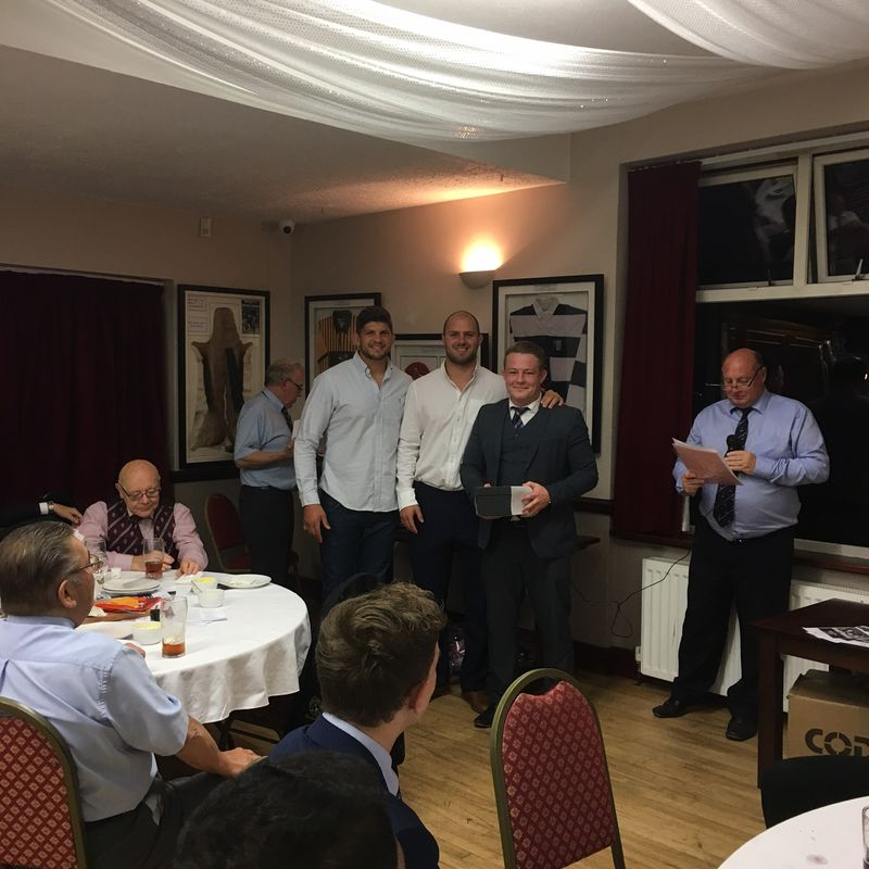 NOERFC CLUB DINNER AWARDS 2016-17