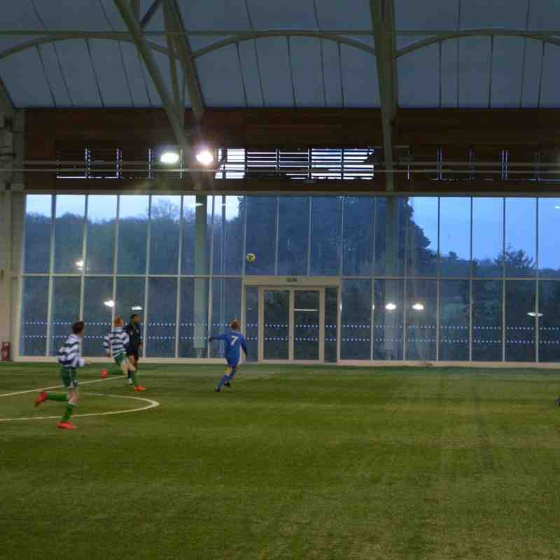 St Itas AFC away at Doveridge u15 St Georges park England qty 100