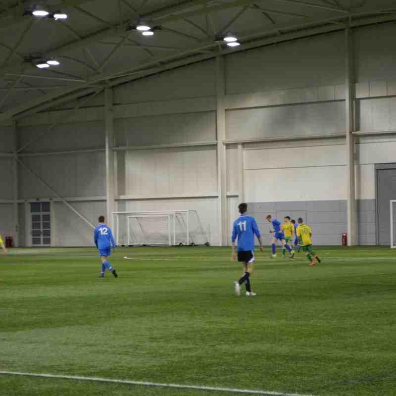 St Itas AFC away at Doveridge u18 St Georges Park England