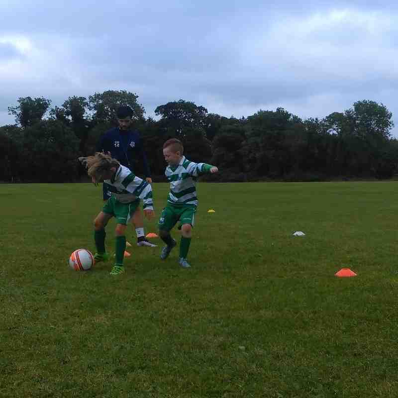 St Itas afc u10's preseason training