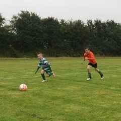 St ita's afc u10's  to strong for Kevins