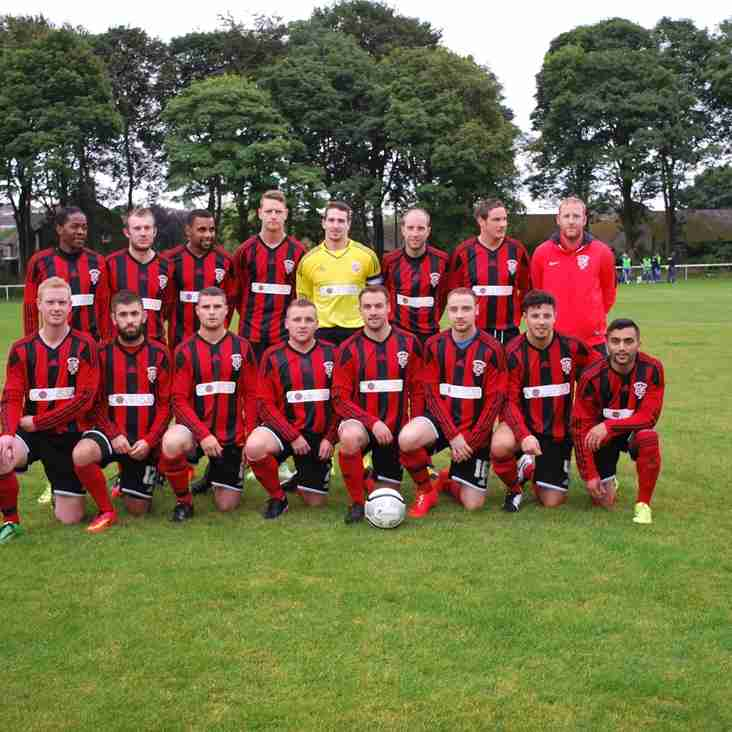 First Team Squad play Ossett Albion in friendly tonight - kick off 6.45pm