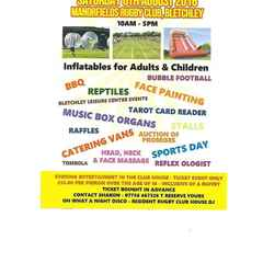 Charity Family Fun Day at Manor Fields