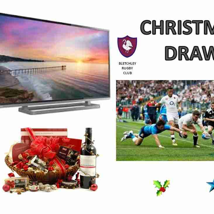 Christmas Draw - this Saturday