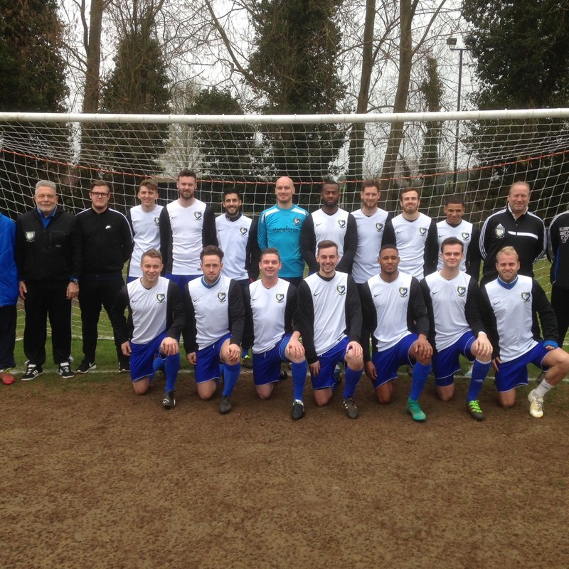 1st team beat Cockfosters 3 - 1