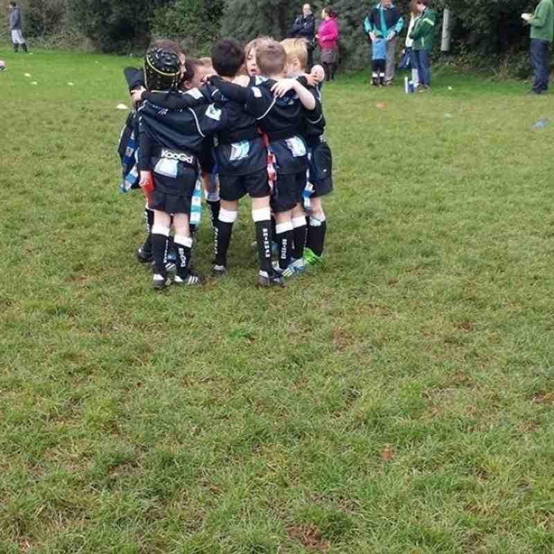 BRFC U-8's Away to Teignmouth