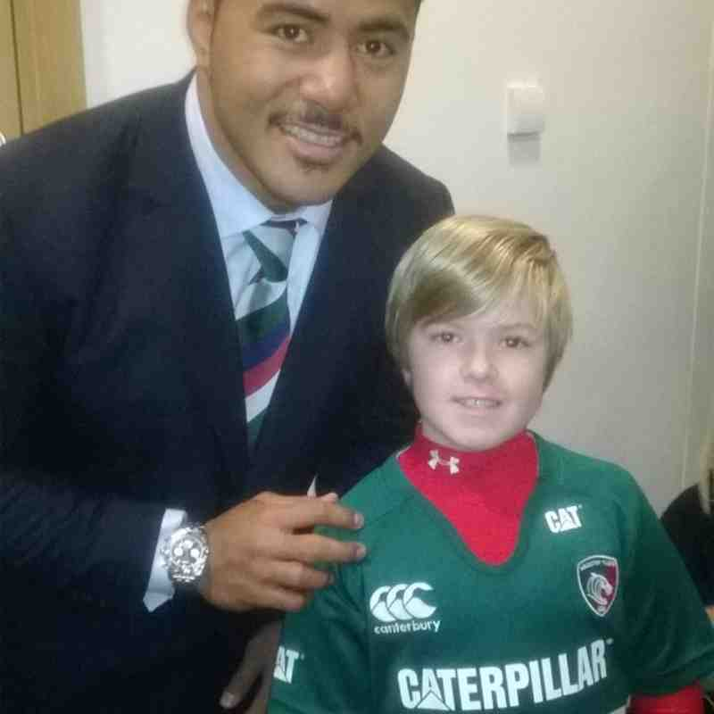 Recent trip to Leicester Tigers By Tom U9s