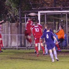Fleet Town v Whitchurch Utd (Russell Cotes Cup) 13DEC16 by Lyn Bevan