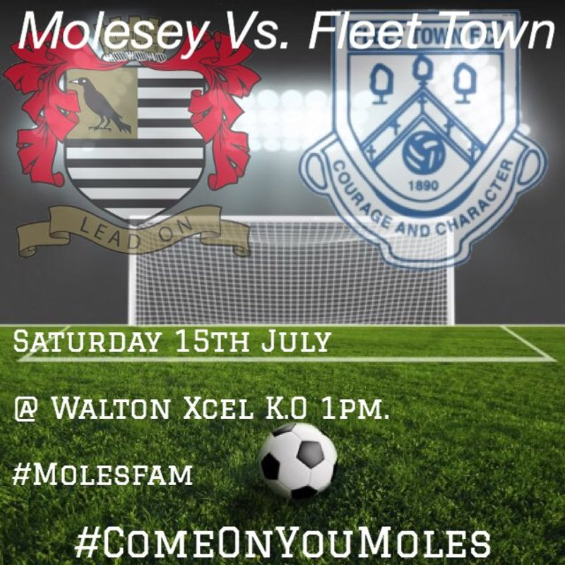 Next Up - Molesey (away)