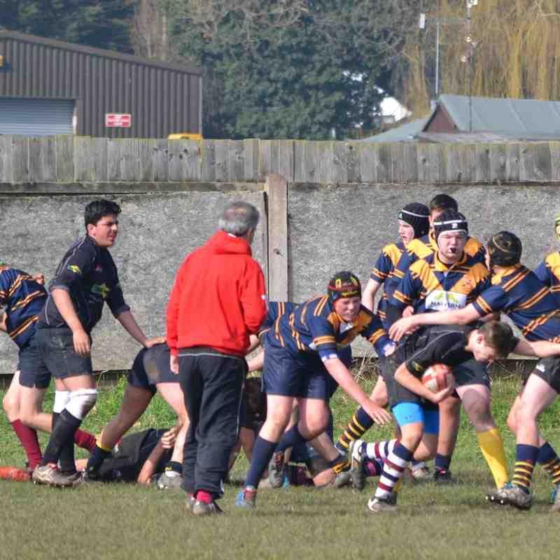 U15s v Stourport 13th Mar 2016