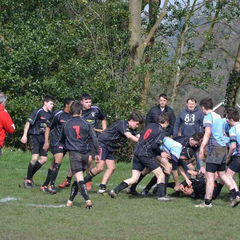 U15s v Bridgnorth 3rd Apr 2016