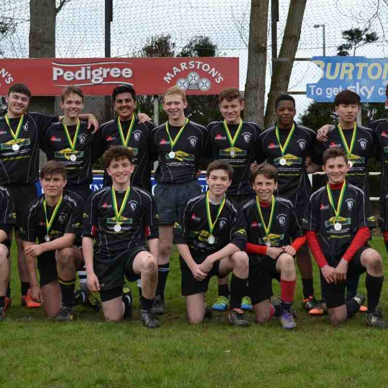 U15s v Tamworth in plate final 24th Apr 2016