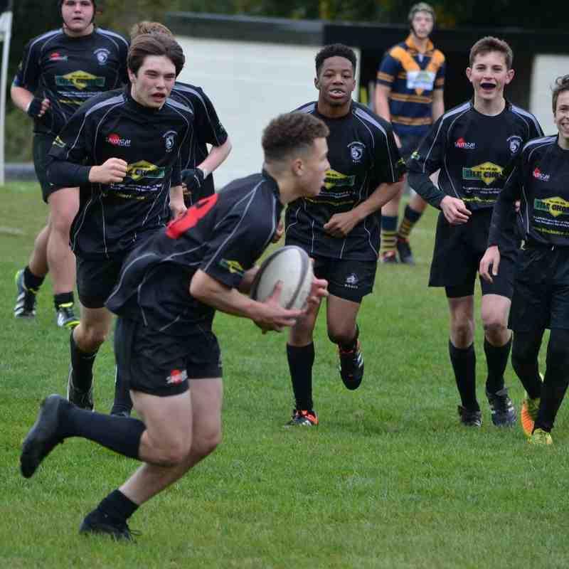 U16s v Stourport 23rd Oct 2016