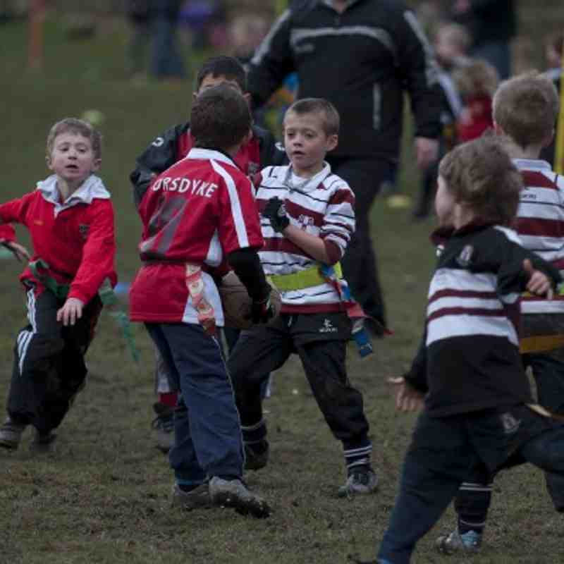 U7s v Old Rishworthians 22nd Feb