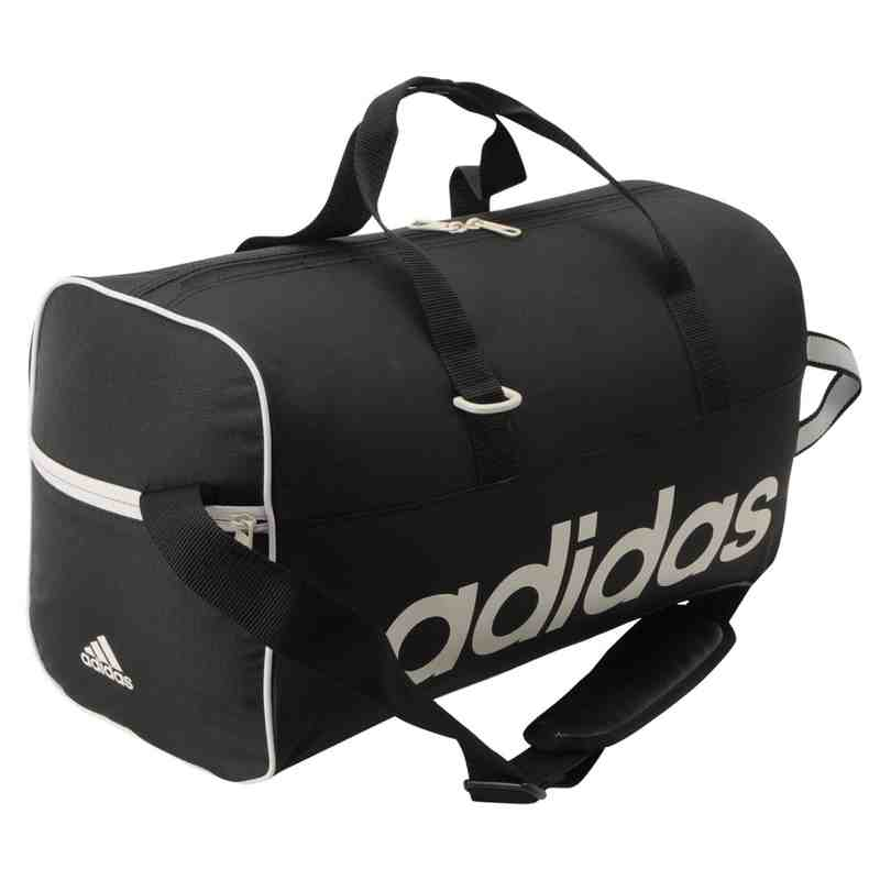 ADIDAS LINEAR HOLDALL GYM BAG w/ INNER BOOT BAG - Medium