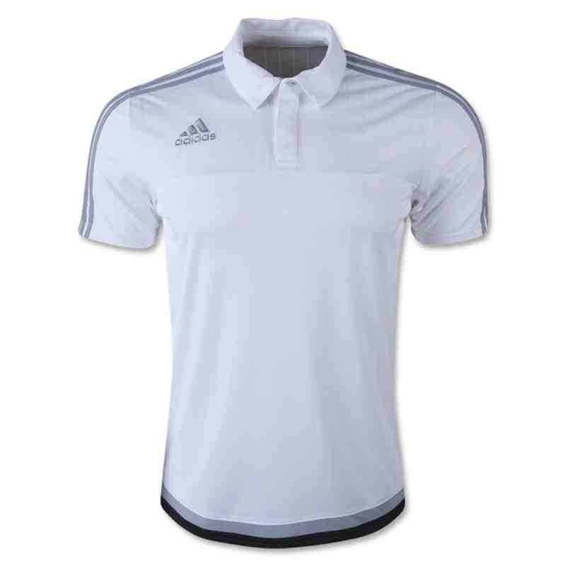 ADIDAS TIRO 15 POLO - White