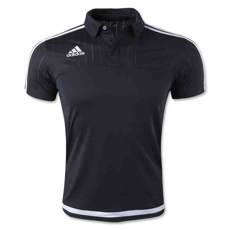 ADIDAS TIRO 15 POLO - Black