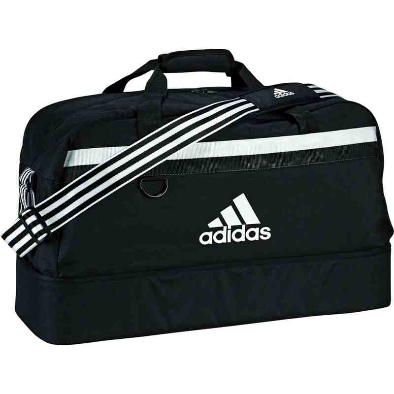 ADIDAS TIRO TEAMBAG w/ ZIPPED BOOT COMPARTMENT - Medium