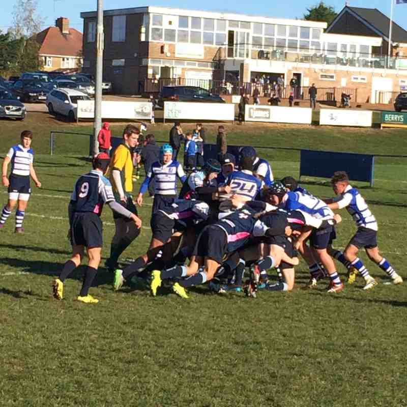 Fantastic Bedford league game at home 6 November 2016