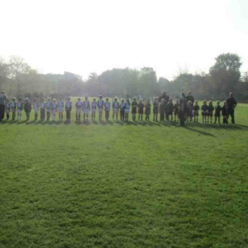 Southend vs. Rochford Under 8s, 13th November 2011