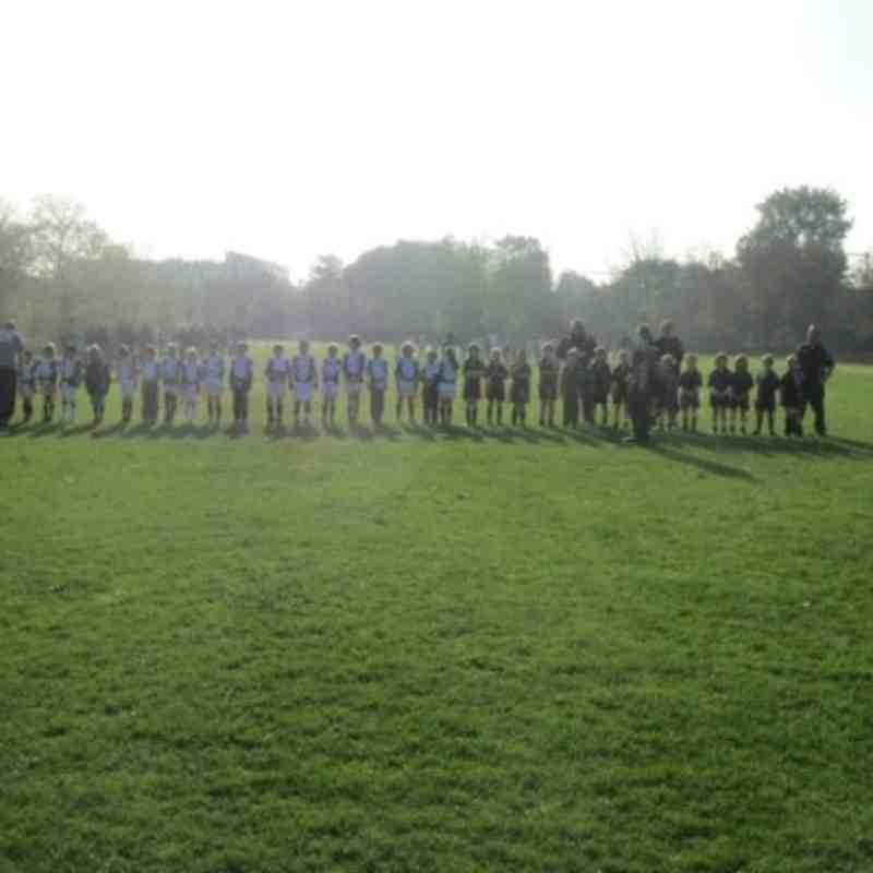 Southend vs. Rochford Under 8s, 13th November 2011